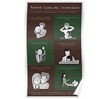 Proper Cuddling Techniques (Green) Poster