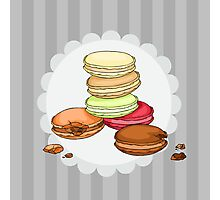 Macarons || ScarlettDesigns Photographic Print