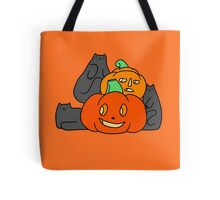 Cats and Pumpkins Tote Bag