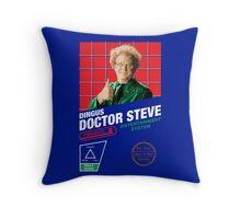 8 Bit Brule Throw Pillow