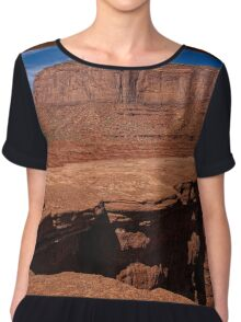 Layers Of Time Chiffon Top