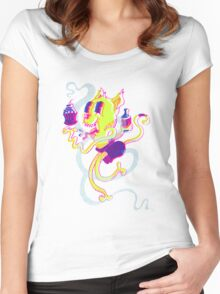 Crusty Cat Women's Fitted Scoop T-Shirt