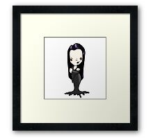 Morticia Framed Print