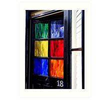 18 Key to the Door Art Print