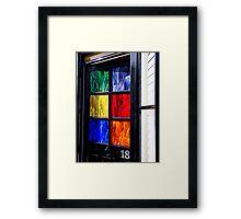 18 Key to the Door Framed Print