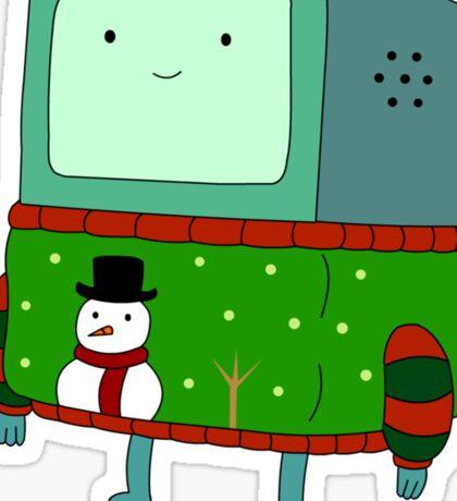 BMO - christmas Sticker