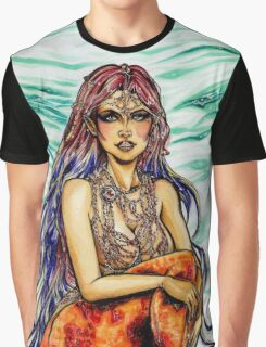 Mermaid Melody Graphic T-Shirt