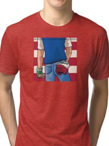 Born in Pallet Town Tri-blend T-Shirt