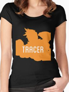 Tracer //Overwatch// Women's Fitted Scoop T-Shirt