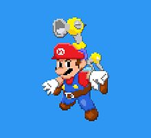 Super Mario Sunshine Pixelized  by Violentsofa