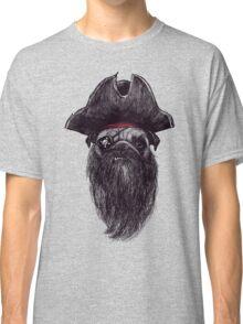 Capt. Blackbone the pugrate Classic T-Shirt