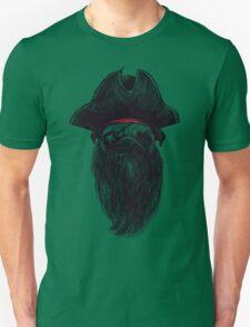 Capt. Blackbone the pugrate T-Shirt