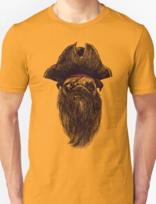 Capt. Blackbone the pugrate T-Shirt