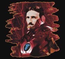 Tesla + Iron Man Mashup by jcestaro33