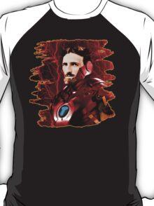 Tesla + Iron Man Mashup T-Shirt