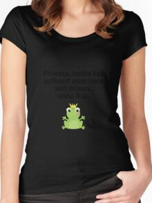 Princess Frog Women's Fitted Scoop T-Shirt