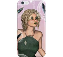 Fairy and Butterflies iPhone Case/Skin