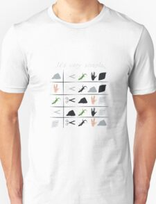 scissors rock paper spock lizard  Unisex T-Shirt