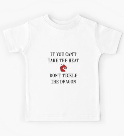 Tickle The Dragon Kids Tee