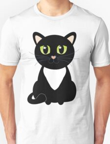Only One Black and White Cat Unisex T-Shirt