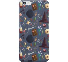 Witches pattern iPhone Case/Skin