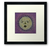MEXICALI NEW MOON PURPLE Framed Print