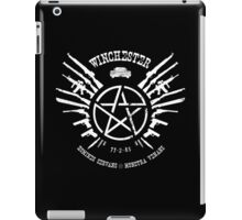 Winchester Coat of Arms (white logo) iPad Case/Skin
