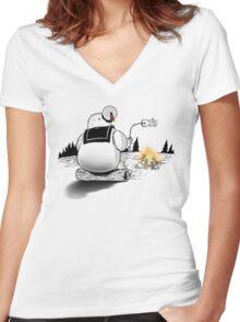 Soylent Puft  Women's Fitted V-Neck T-Shirt