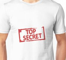 Top Secret Stamp Unisex T-Shirt