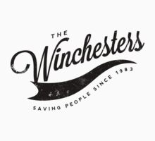The Winchesters Vintage Logo 4 by hahahahaleigh