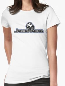 Jager Racing Badger Womens Fitted T-Shirt