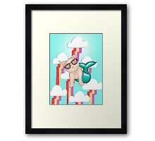 Our Lady of Perpetual Internet Framed Print