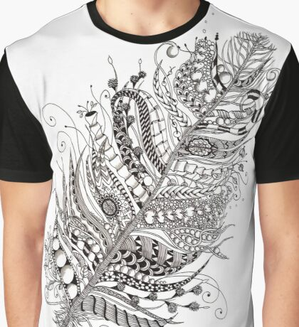 Magic Feather Graphic T-Shirt