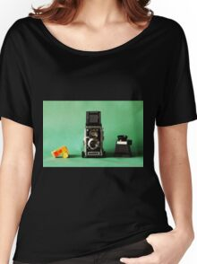 Vintage Mamiya Twin Lens Women's Relaxed Fit T-Shirt