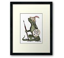 Dragon Artist Framed Print