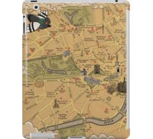Map of London - Tolkien Inspired  iPad Case/Skin