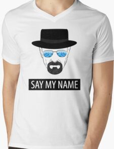 Breaking Bad - Say my name Mens V-Neck T-Shirt
