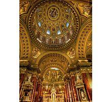 St.Stephens basilica Budapest Photographic Print