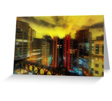 High Rise in Sao Paulo Greeting Card