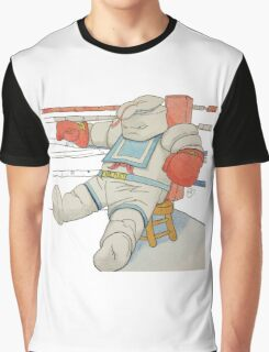 Stay Puft in the Ring Graphic T-Shirt