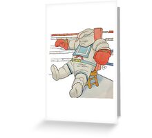 Stay Puft in the Ring Greeting Card