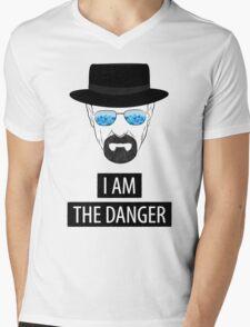 Breaking Bad - I am the danger Mens V-Neck T-Shirt