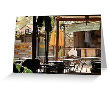 Daly Water Pub.  Fine food and cold beer Greeting Card