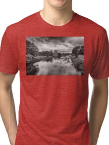 Trim Castle and the River Boyne Tri-blend T-Shirt