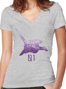 Unit 01 Women's Fitted V-Neck T-Shirt