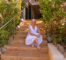 Moi At My Rented Villa In The Sun by Fara