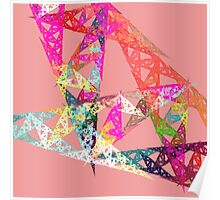 Triangle Fractal Poster