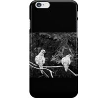 A PAIR OF TURTLE DOVES iPhone Case/Skin