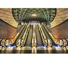 Triangeln Station. Photographic Print