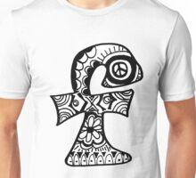 """Hipster Letter """"F"""" Zentangle Unisex T-Shirt"""